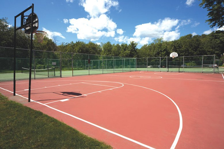 Basketball/Tennis Courts: View Photo